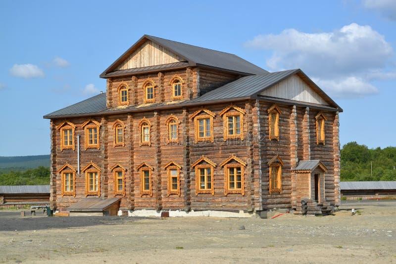Братский случай монастыря священных и Troitsk Trifonov-Pechengsky maman стоковое фото rf