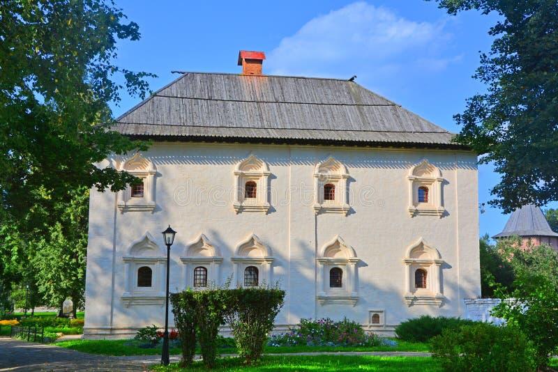 Братский & x28; private& x29; случай & x28; 1628-1660& x29; в монастыре Spaso-Evfimiyevsky в Suzdal, Россия стоковое изображение rf