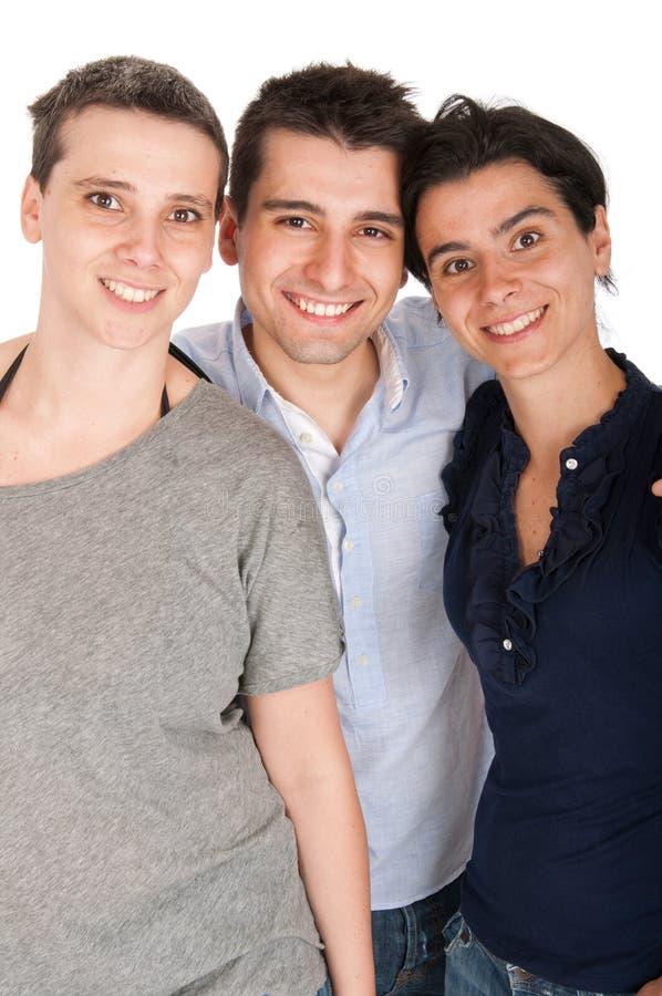Брат и сестры стоковое изображение rf