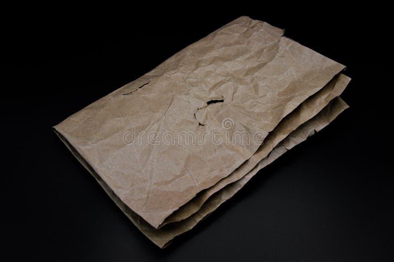 Браун и бежевый покрашенный сложенный картон стоковые фото