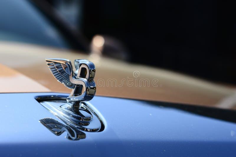 Бренд автомобиля Bentley роскошный стоковые изображения rf