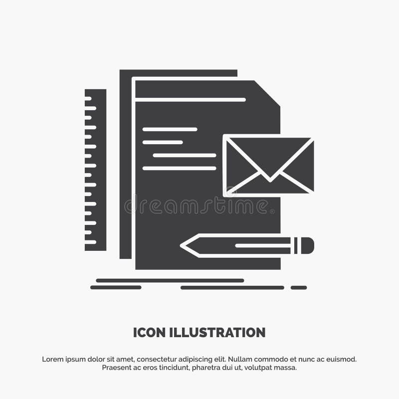 Бренд, компания, идентичность, письмо, значок представления r иллюстрация вектора