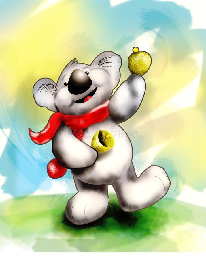 бренчает koala бесплатная иллюстрация