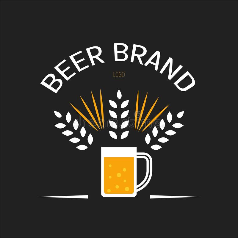 Бренд пива иллюстрация вектора