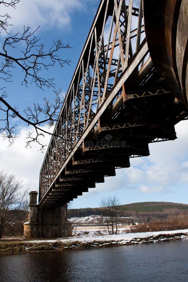 бриг o моста шлюпки стоковая фотография rf