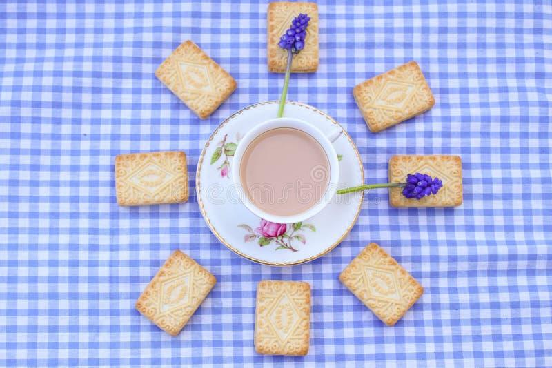 Британцы Cuppa стоковая фотография