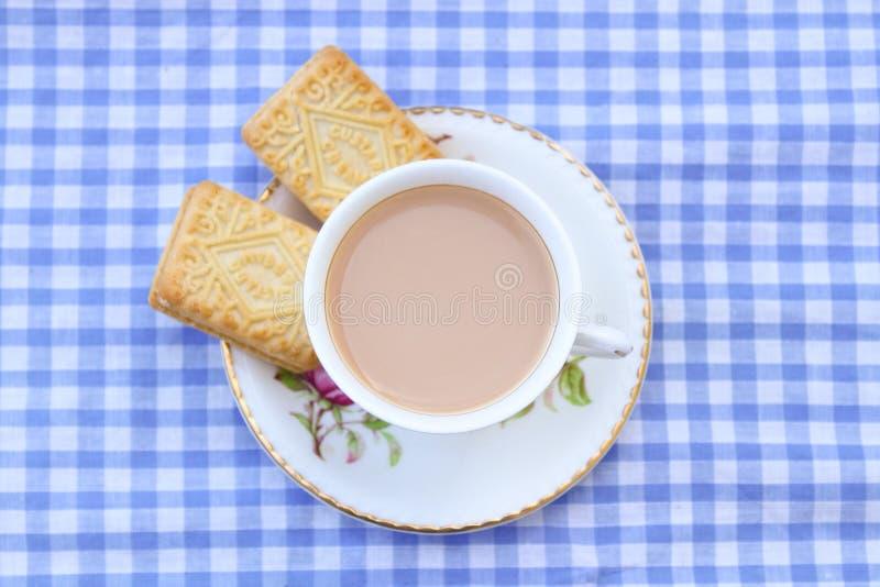 Британцы Cuppa стоковые изображения