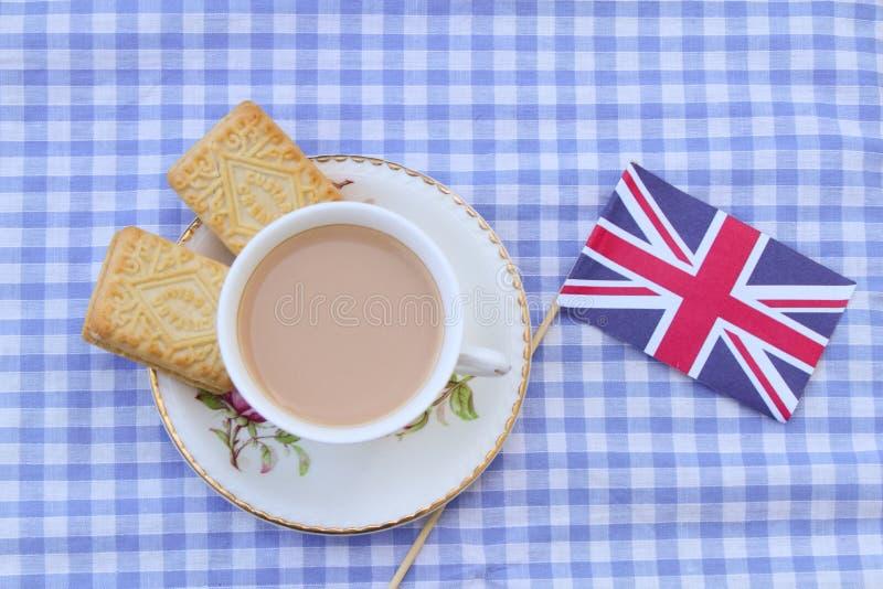 Британцы Cuppa стоковые изображения rf