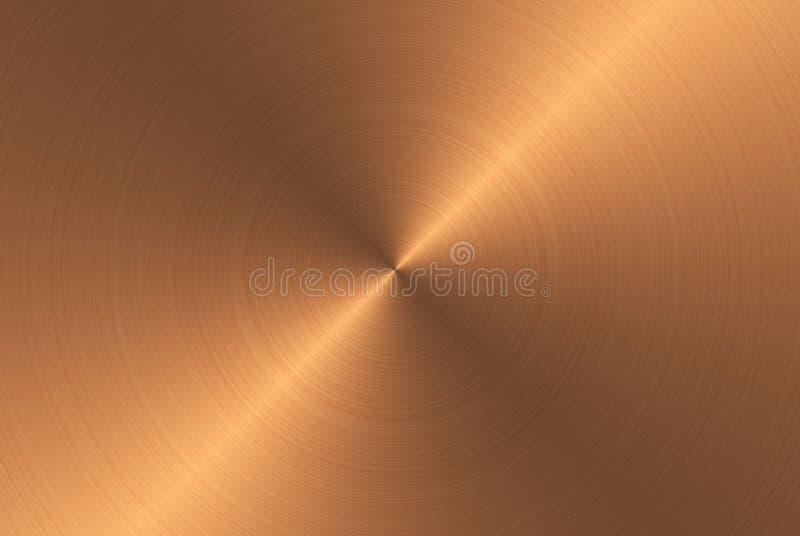 Бронзовая текстура металла бесплатная иллюстрация
