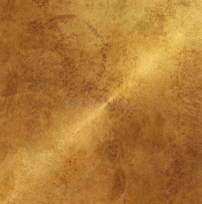 Бронзовая текстура предпосылки Grunge деревенская стоковая фотография rf