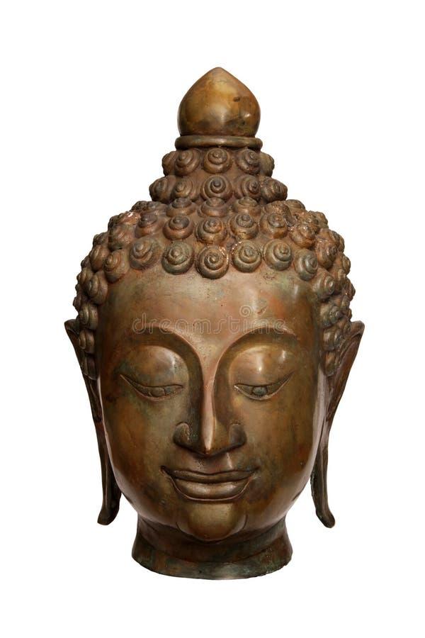 бронзовый Будда стоковое фото rf