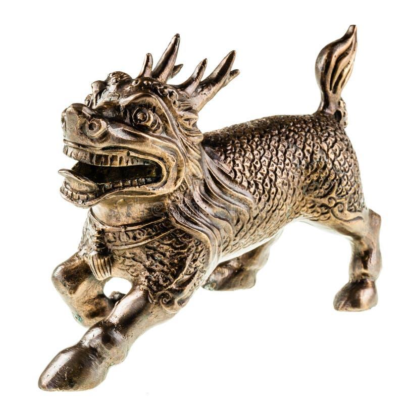 Бронзовый дракон стоковые фотографии rf
