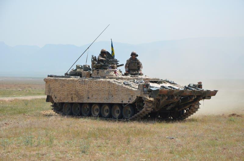 Бронированные транспортные средства в Афганистане стоковые изображения