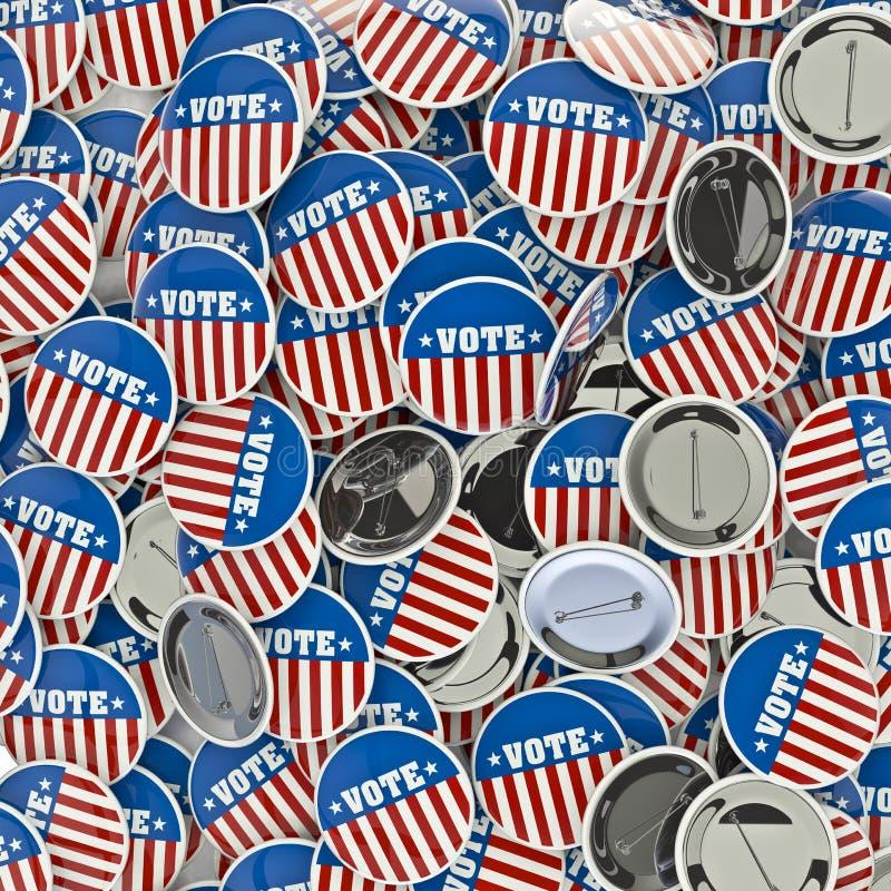 бросание вспоминает проголосовать ваше бесплатная иллюстрация