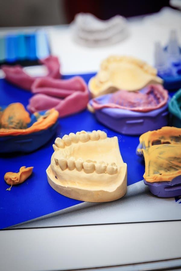 Бросания dentures стоковая фотография rf