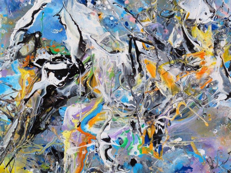 Броский конспект цветов стоковое изображение