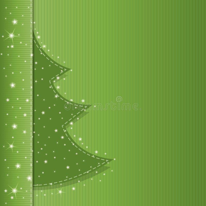 Брошюра классики рождественской елки иллюстрация вектора
