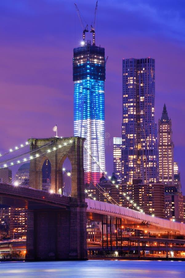 Бруклинский мост стоковая фотография rf