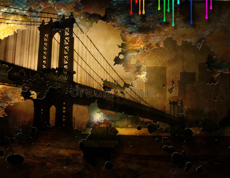 Бруклин бесплатная иллюстрация