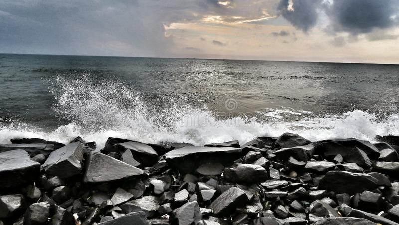 Брызг океана стоковые фото