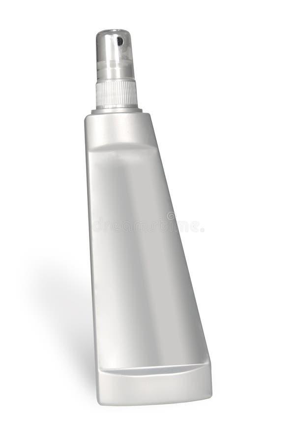 брызг пластмассы бутылки стоковое изображение rf