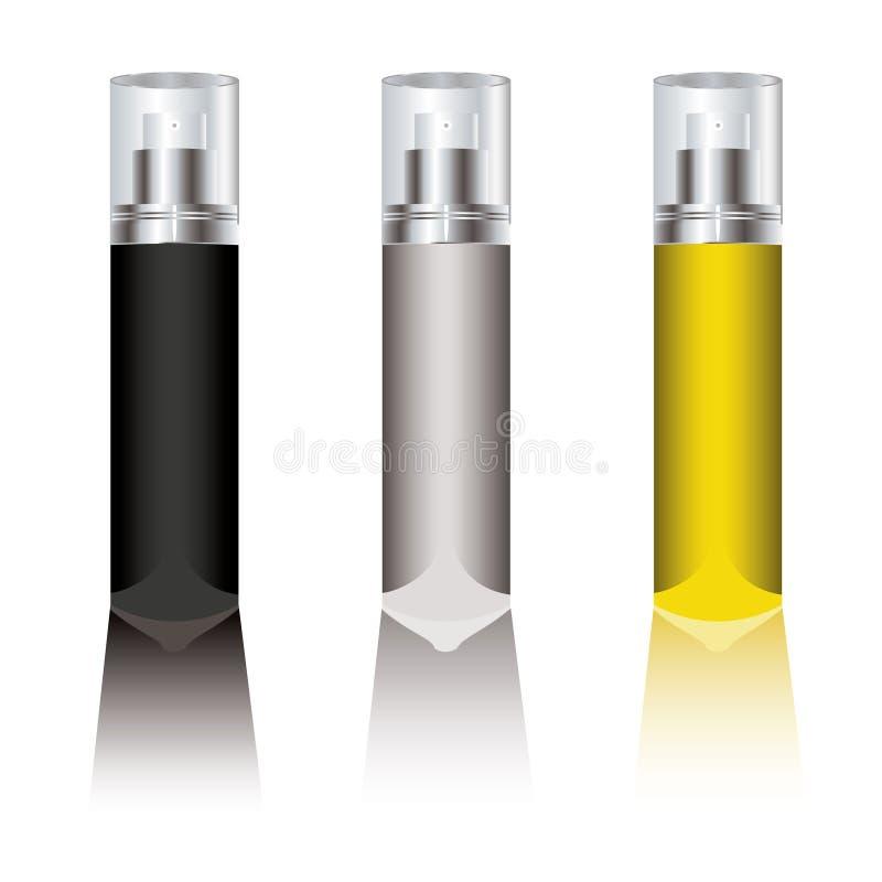 брызг deodorant иллюстрация вектора