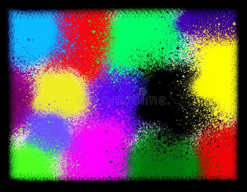 Брызг multicolor Справочная информация Аннотация бесплатная иллюстрация