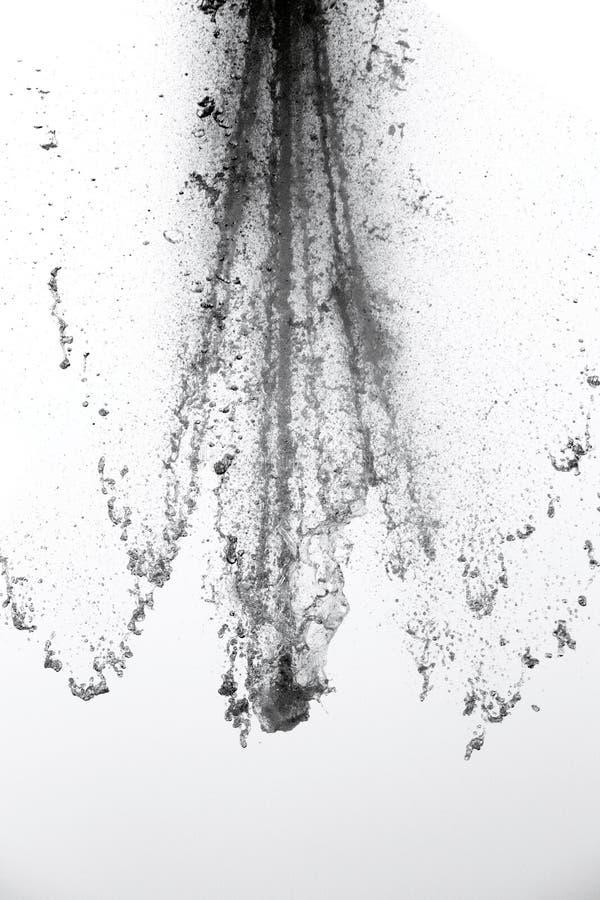 брызните воду стоковое фото rf