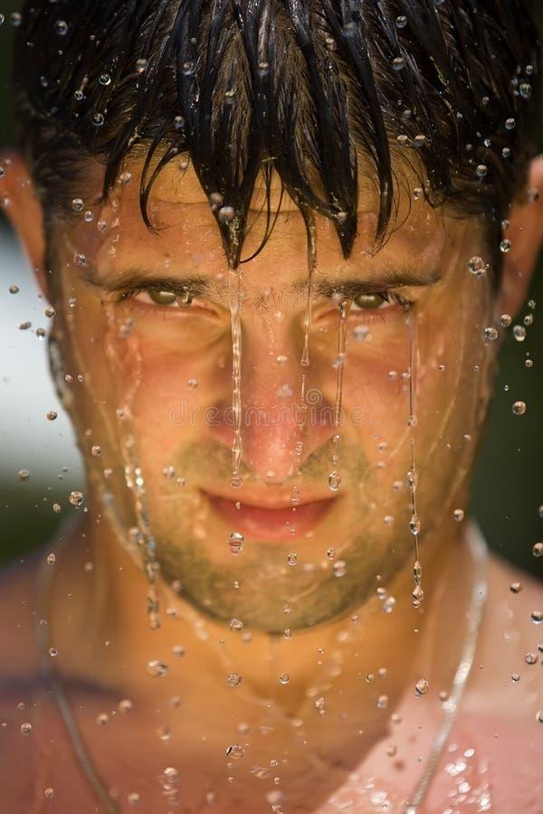 брызните воду стоковое изображение