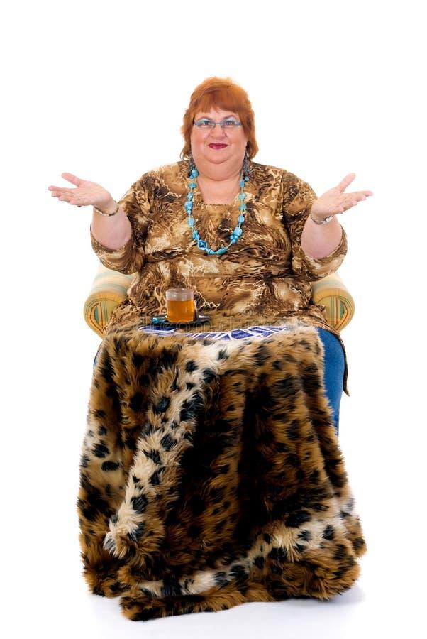 брюзглая женщина стоковые фотографии rf