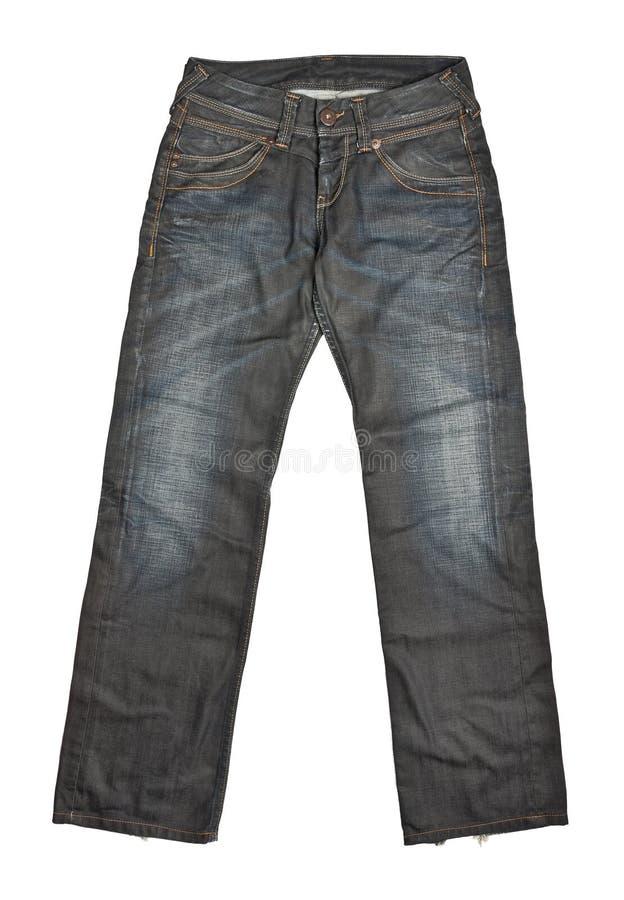 брюки джинсыов стоковое изображение rf