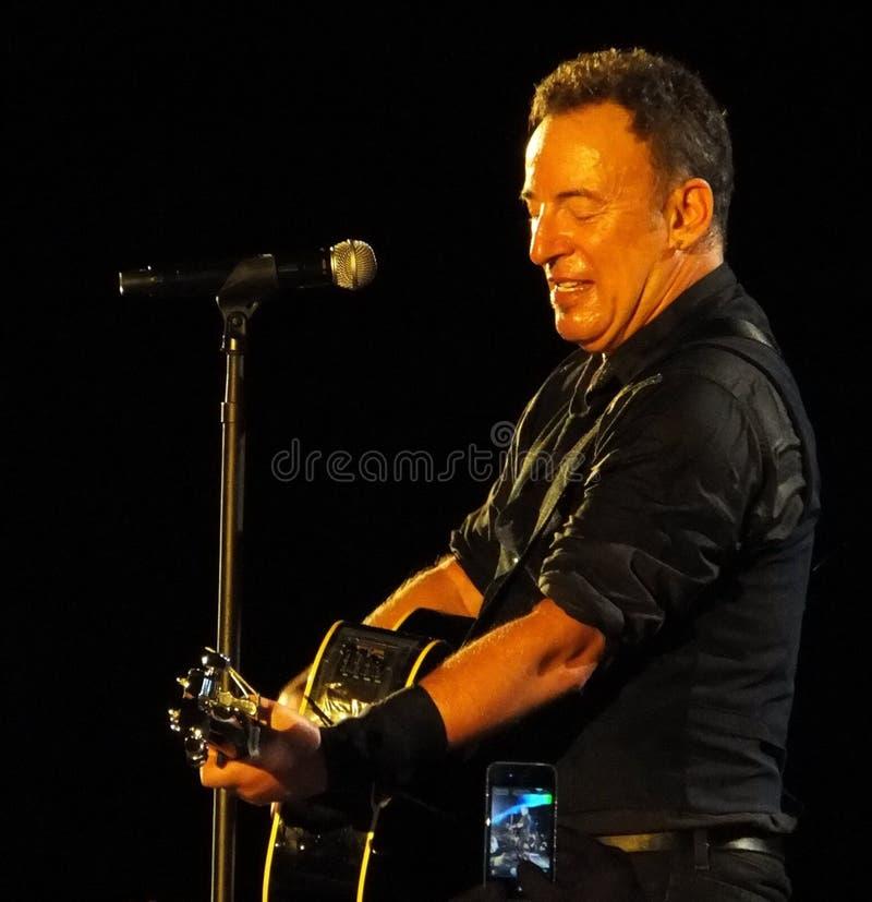 Брюс Springsteen стоковое изображение rf