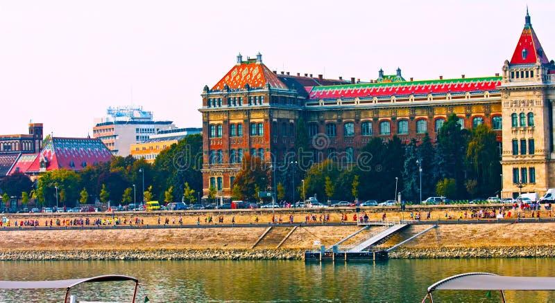 Будапешт, Венгрия - MAI 01, 2019: Здание венгерского парламента в Будапеште стоковая фотография