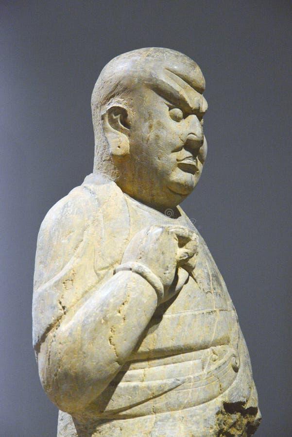 Будда в стоя положении раздумья стоковое изображение rf