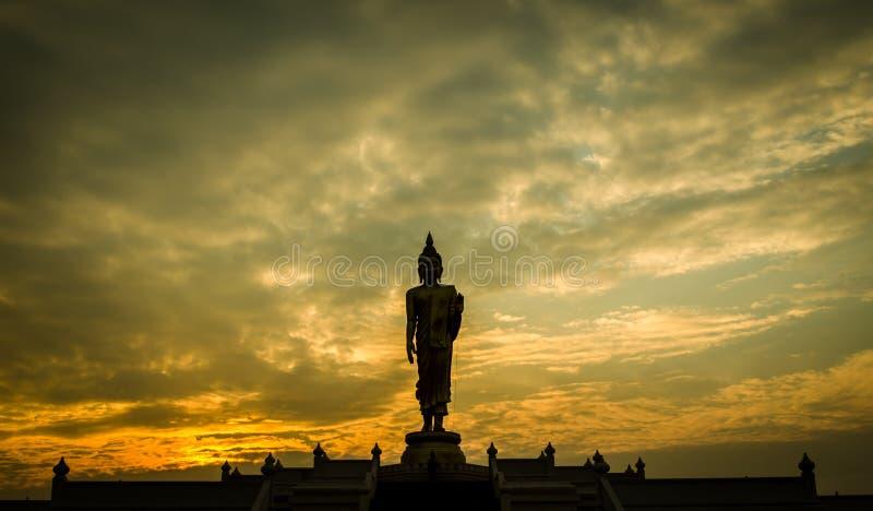 Будда thai2 стоковое изображение