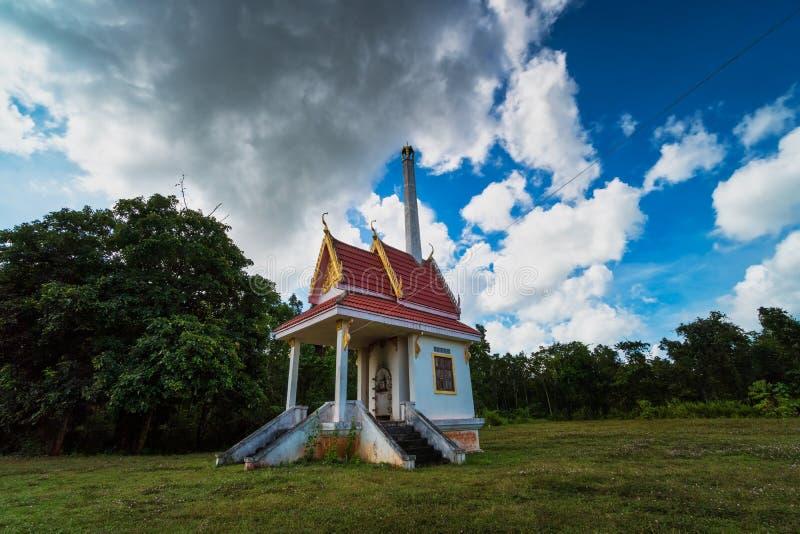 Буддизм крематория стоковая фотография