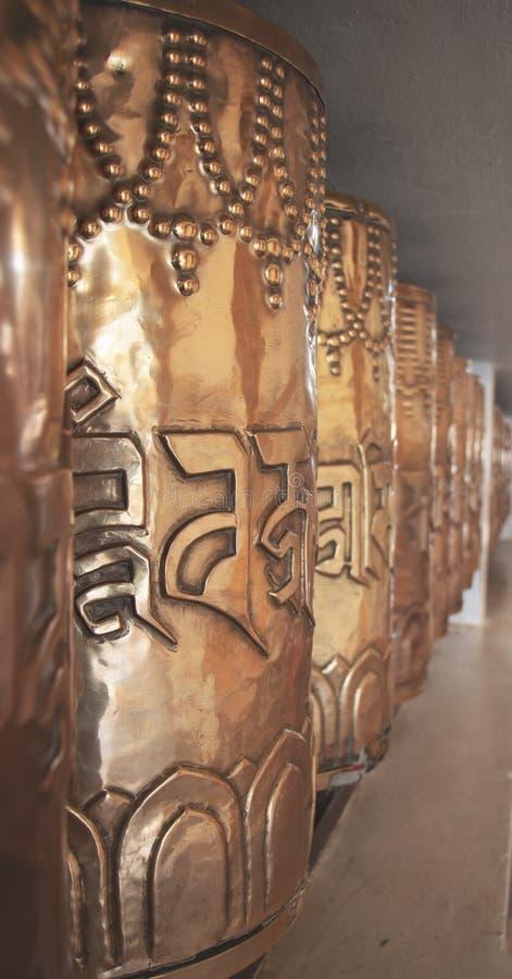 Буддийские моля колеса стоковое изображение rf
