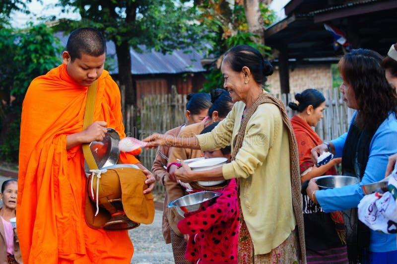буддийские монахи Таиланд стоковое изображение