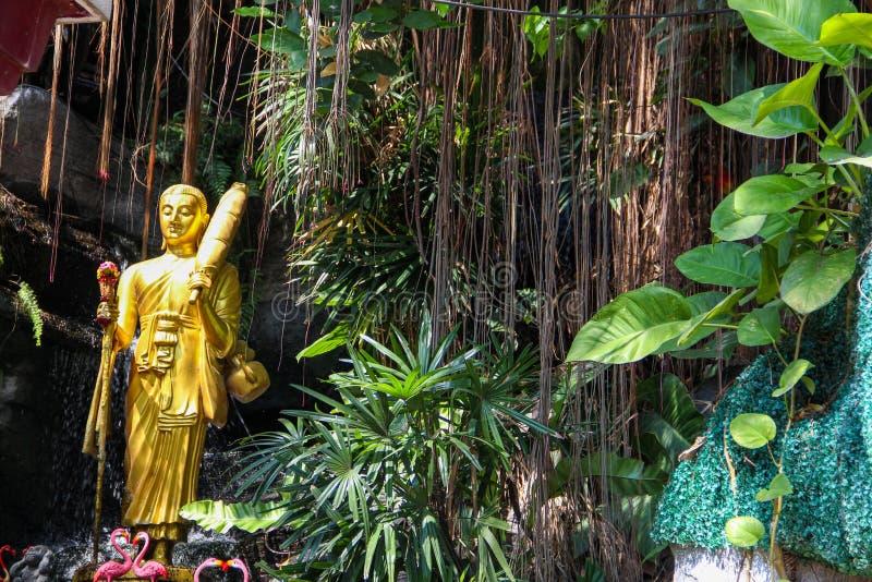 Буддийский висок в Бангкоке, Таиланде стоковое изображение