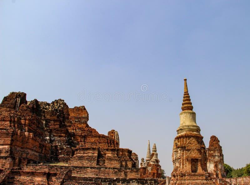 Буддийский висок в Ayutthaya, Бангкоке Таиланде стоковые изображения rf