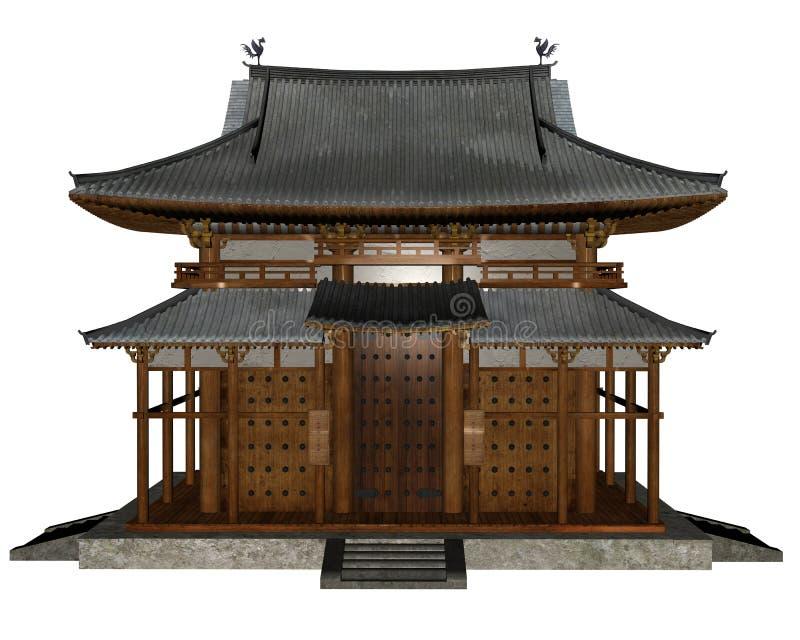 буддийский висок бесплатная иллюстрация
