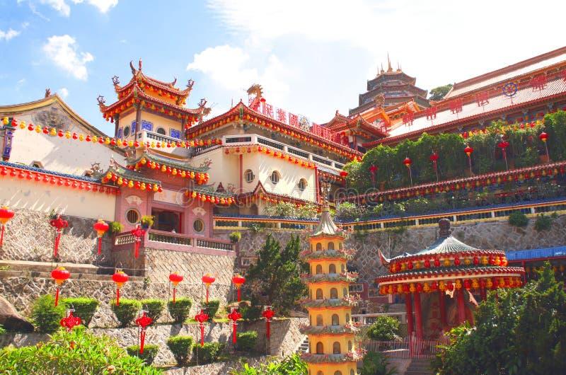 Буддийский висок Kek Lok Si, Джорджтаун, остров Penang, Малайзия стоковая фотография