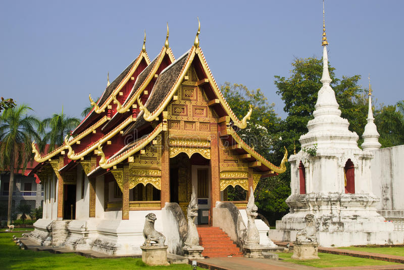 буддийский висок mai chiang стоковая фотография rf