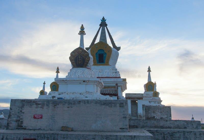 Буддийский монастырь Erdene Zu стоковое изображение rf