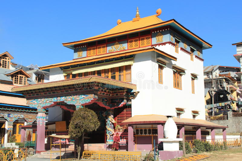 Буддийский скит. стоковые фото