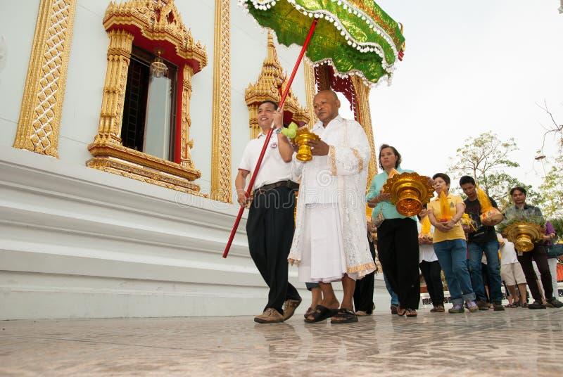 Буддийское посвящение стоковое фото