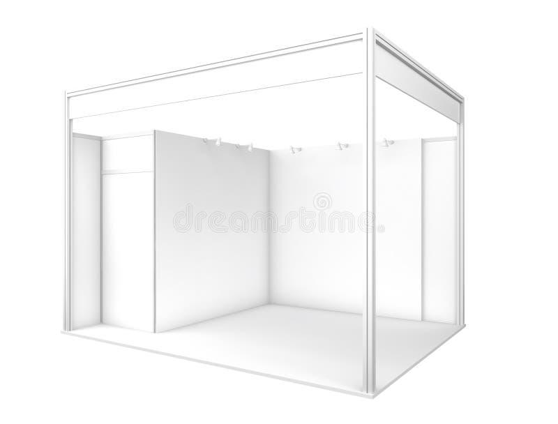 Будочка торговой выставки 3d представляют стоковое изображение rf