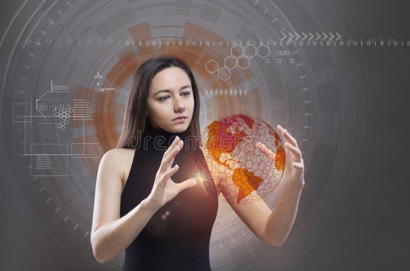 Будущая технология стоковые фото