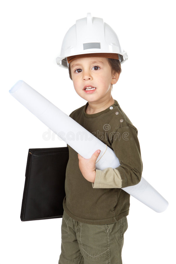 будущее архитектора стоковое изображение