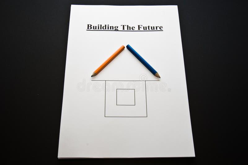 будущее здания стоковая фотография